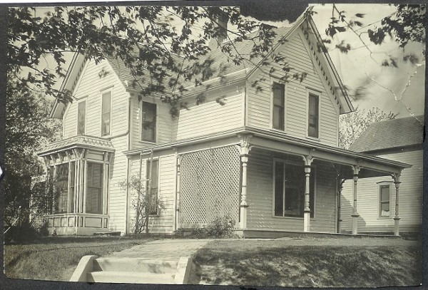 Edwardian House Photograph