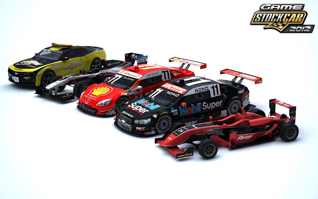 Todos los coches Game Stock Car