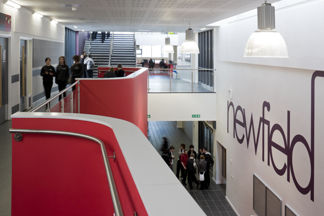 School Interior Design BSF Sheffield Newfield and Talbot SEN