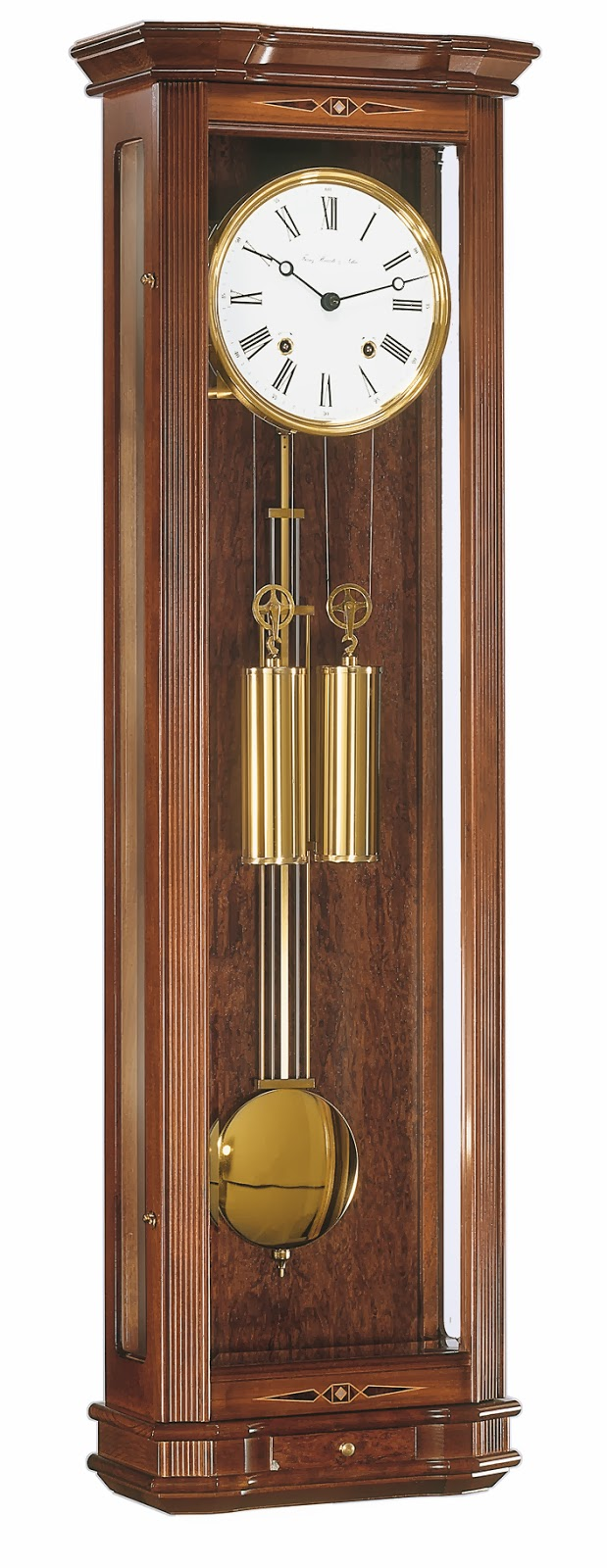 Hermle Clapham Mechanical Wall Clock