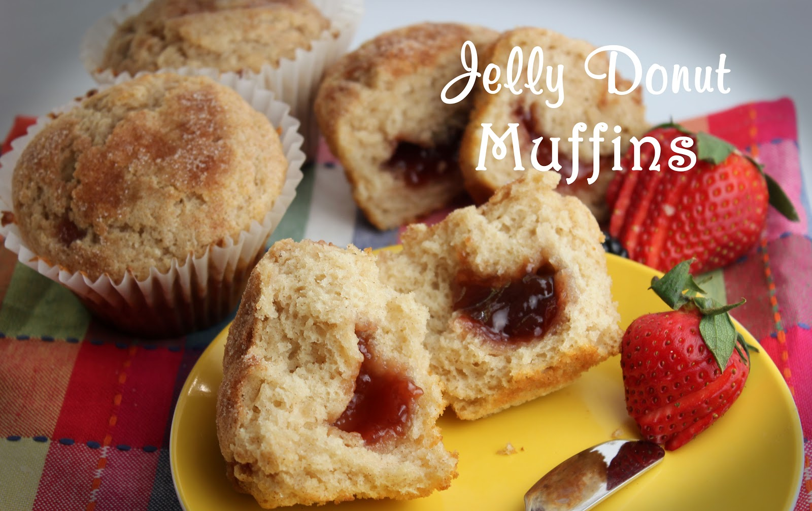 Jelly Donut Muffins