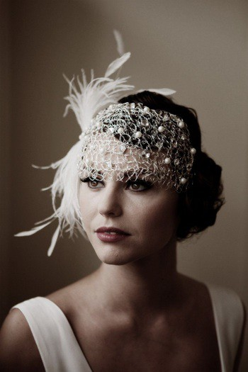 lamb & blonde: Wedding Wednesday: 1920s Style Headbands