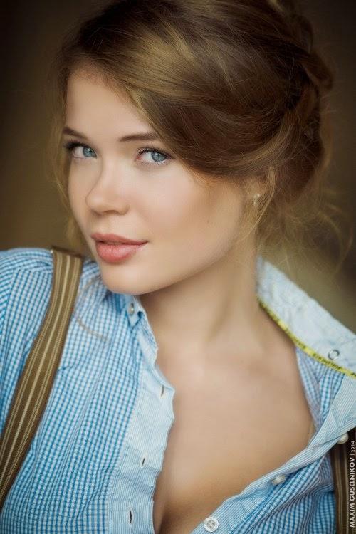 Maxim Guselnikov fotografia mulheres sensuais modelo russa Ksenia Palenova