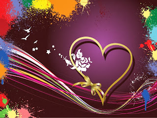 ... foto bingkai love terbaru berwarna biru,ungu, bingkai love