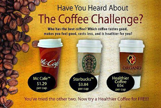 the coffee challenge