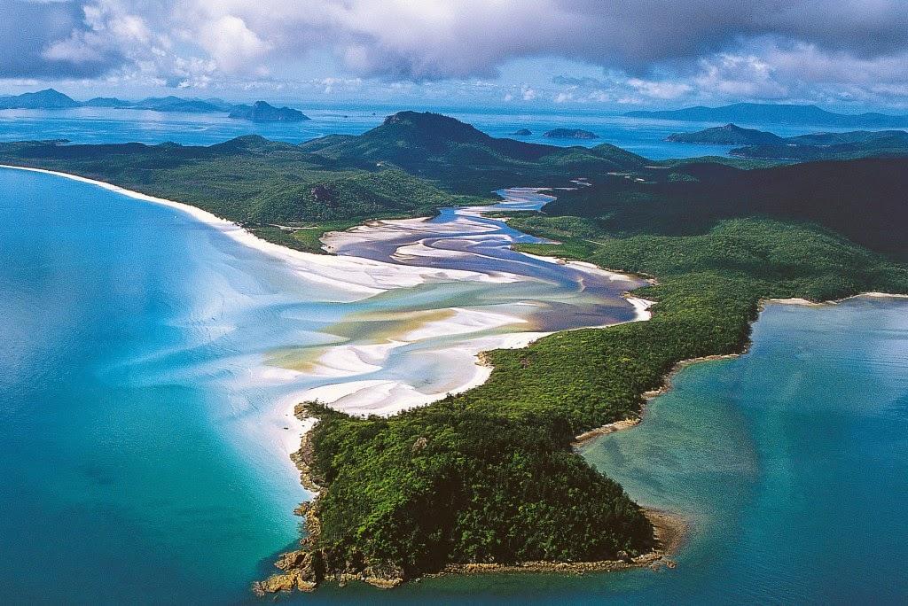Whitehaven Beach Whitsunday Islands Australia