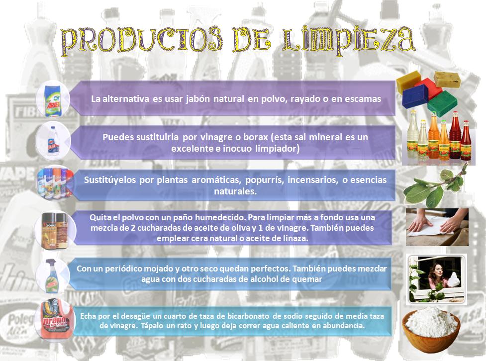 Los productos qu micos en la vida cotidiana noviembre 2011 for Articulos para limpieza del hogar