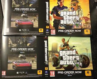 grand theft auto v promo display 3 Grand Theft Auto V   More Promotional Displays
