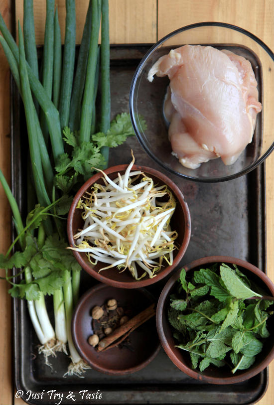 Resep Simple Pho Ayam nan Segar JTT