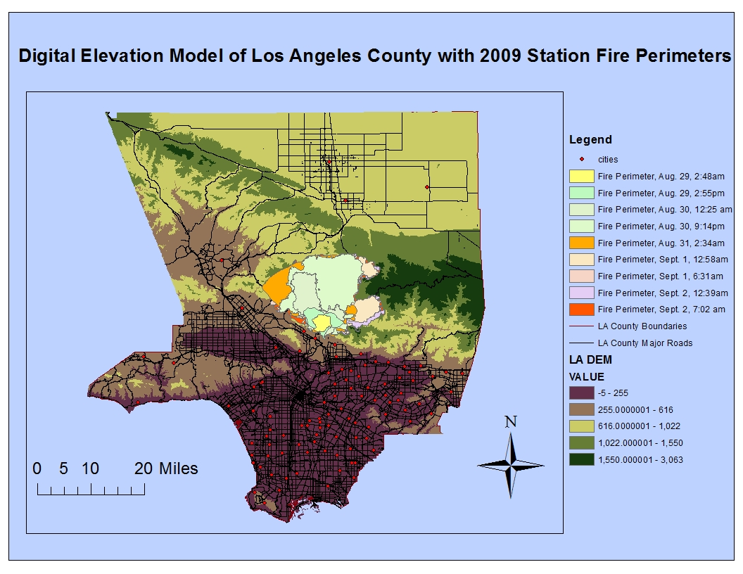 the reference map above displays the evolution of the station fire s perimeters as it grew and ran its course within los angeles county with data retrieved