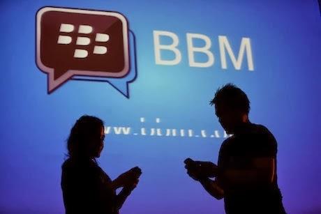 ... BlackBerry Messenger (BBM) tidak memberi kesempatan pengguna untuk