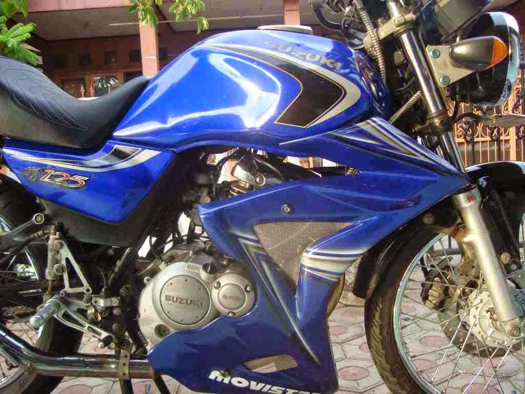Foto Gambar Modifikasi Suzuki Thunder 125 Terbaru