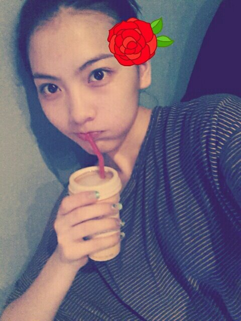 Jiyoung KARA Shower Selca