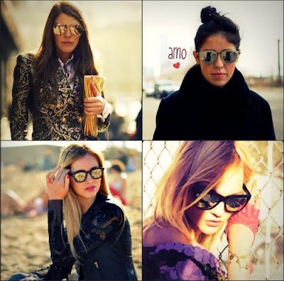 f8dd7ae0e As grifes Dior, Prada, Marc Jacobs, Carrera e Gucci também lançaram seus  modelos, elegendo os espelhados como os ícones da próxima estação.