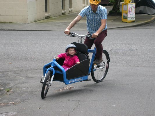 Child Bike Seat Bike Trailer Or Cargo Bike Part Two