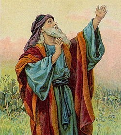 http://en.wikipedia.org/wiki/Isaiah#mediaviewer/File:Isaiah_(Bible_Card).jpg