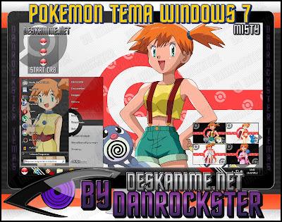 Temas de Pokemon Windows xp y 7 MISTYT7P