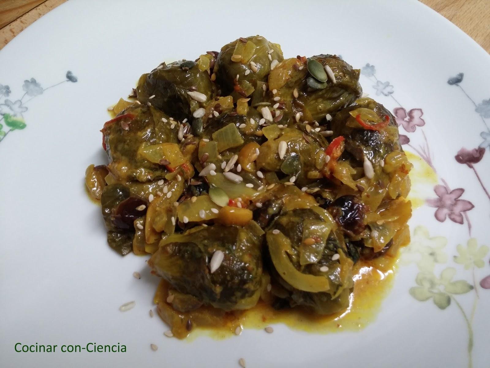 Coles de bruselas al curry cocinar con ciencia - Cocer coles de bruselas ...