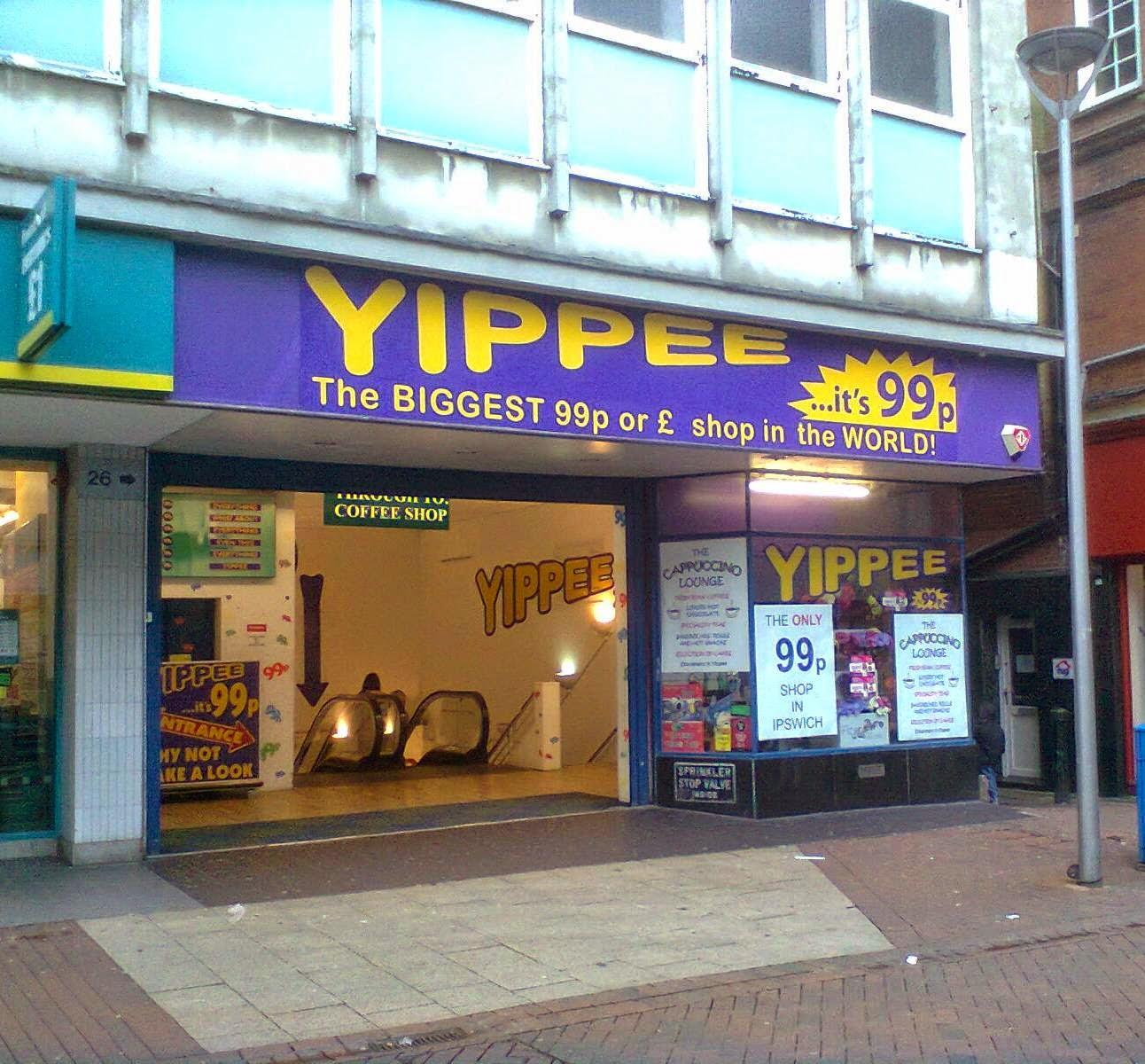 Pound shop in Ipswich