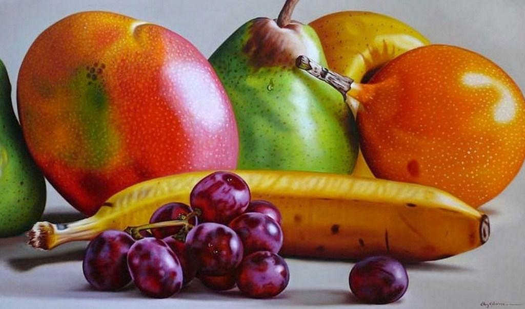 Cuadros pinturas oleos bodegones para pintar con leo - Fotos de bodegones de frutas ...