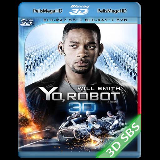 Yo, robot (2004) 3D SBS 1080P HD MKV ESPAÑOL LATINO
