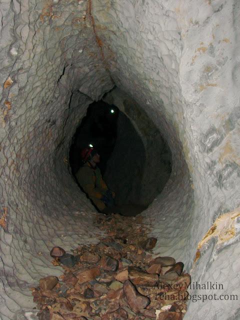 Круглый ход пещера Голубая
