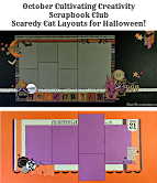 Scaredy Cat Halloween Layouts