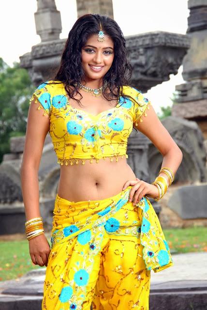 Priyamani in Yellow Dress