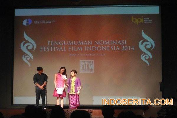 Daftar Nominasi Festival Film Indonesia 2014