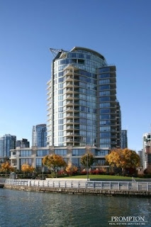 Vancouver high rise with townhouse wrap for families with children
