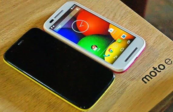 Motorola Moto E, Hp Android Kitket hanya 1 Jutaan