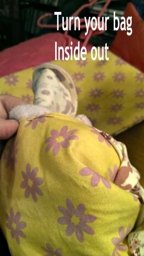 bthm doll sleeping bag turn inside out