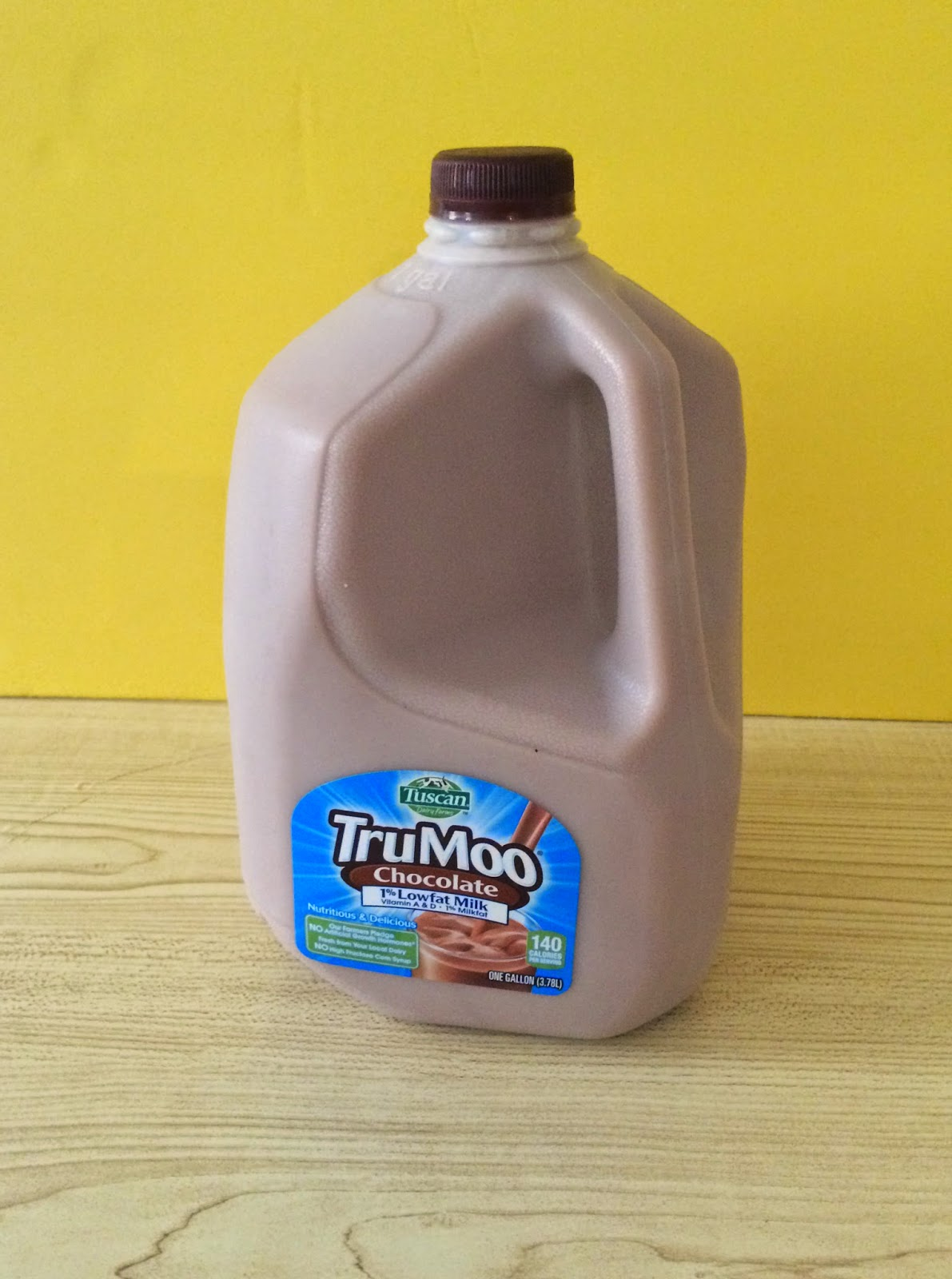 First Time Mom and Losing It: TruMoo Chocolate Milk Banana Cream ...
