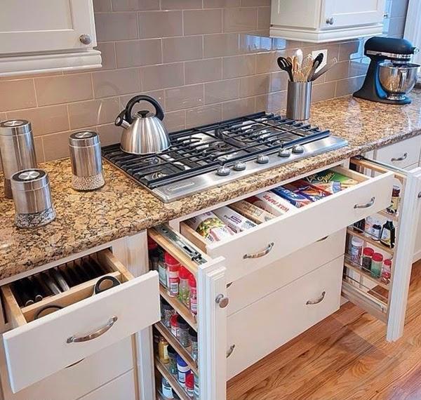 Armarios para ahorrar el espacio en cocinas peque as cocina y muebles - Muebles para cocinas pequenas ...