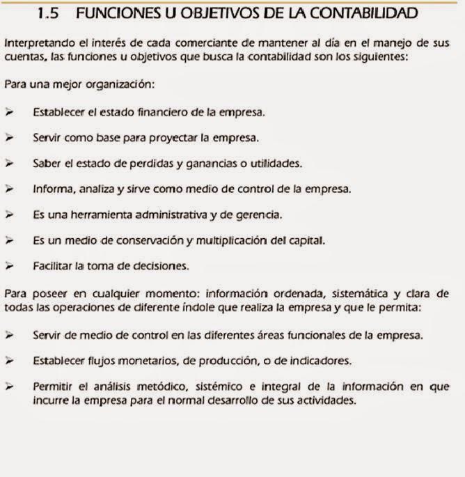 CONCEPTO, OBJETIVOS Y CLASIFICACION DE LA CONTABILIDAD ...