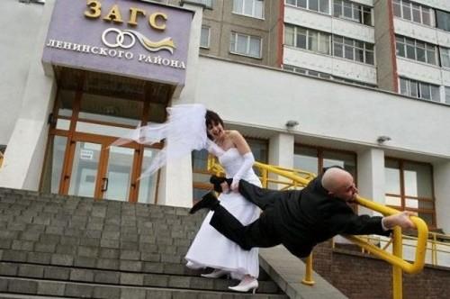 Свадебные приколы (62 фото)