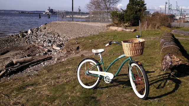 Electra Gypsy Cruiser, retro bicycle, Everett, Pigeon Creek Trail