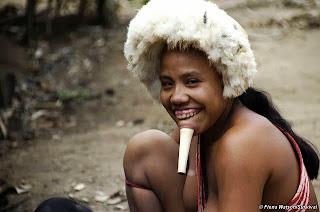 Miembro de la tribu Zo´e