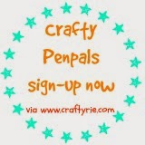 Crafty Penpals sign-up