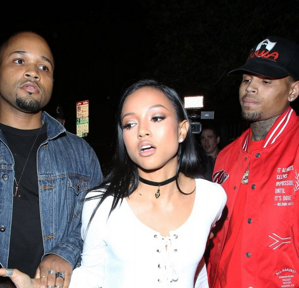 Police Called After Chris Brown And Karrueche Have A Confrontation