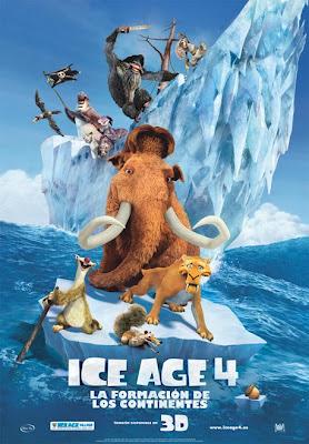 Cartel de la película Ice Age 4: La formación de los continentes. Making Of