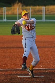 fastpitch softball pitcher