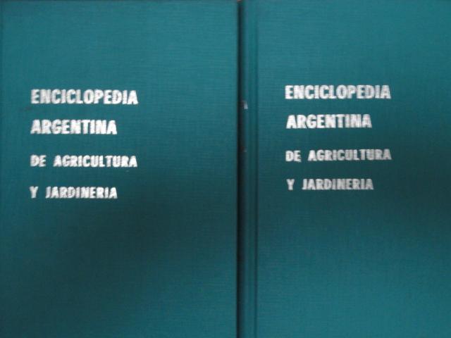 Vendo enciclopedia argentina de agricultura y jardineria - Libros sobre jardineria ...