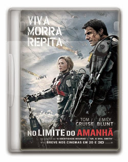 No Limite do Amanhã   BDRip AVI + 720p Dual Áudio + RMVB Dublado