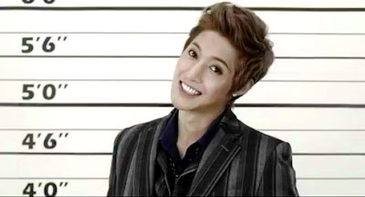 Kim Hyunjoong Lucky Guy mug shot