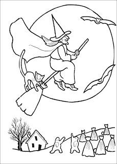 Desenhos de Bruxas