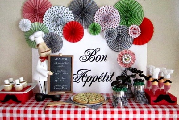 Decoração De Festas Com Leques De Papel Blog La Pequetita