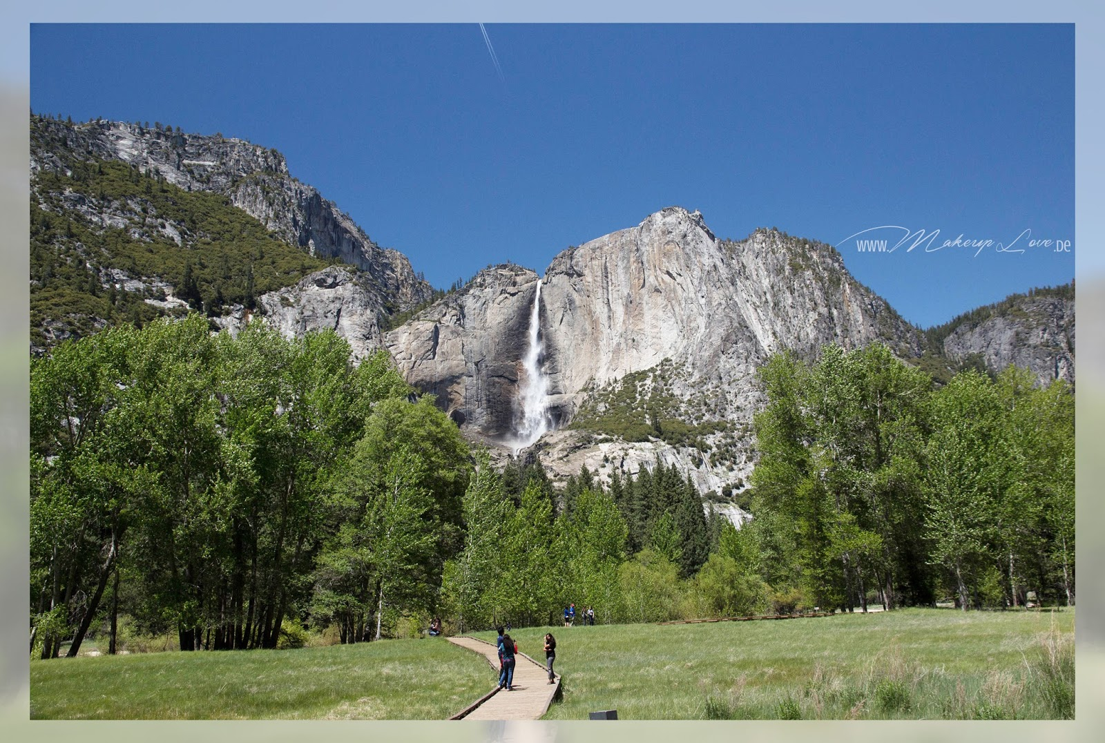 Yosemite National Park Waterfall Wasserfall Landschaft landscape