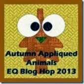 Autumn Appliued Animals