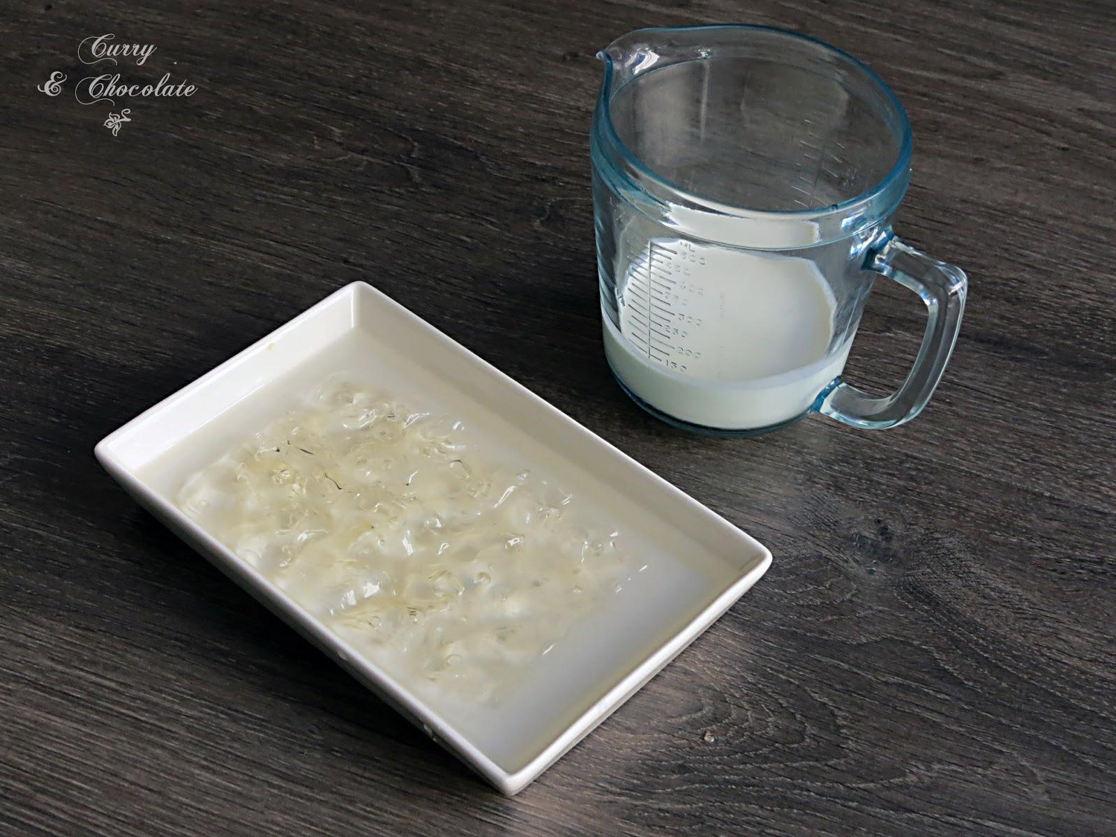 Gelatina hidratada